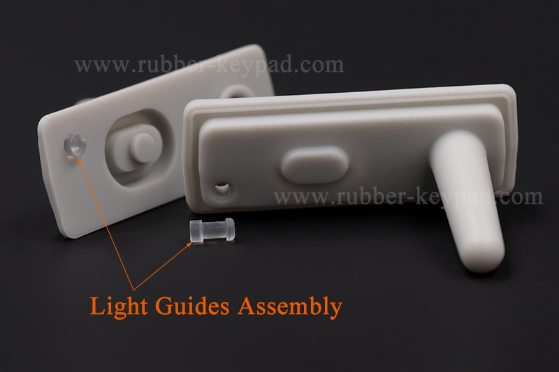 silicone rubber light pipes