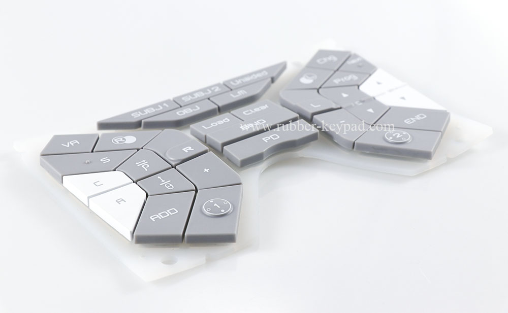 Plastic Rubber Keyboard